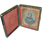 Daguerreotype  Child's Portrait & Case
