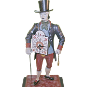 Vintage Figural Advertizing Clock