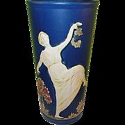 Vintage Weller Art Pottery Dancing Lady