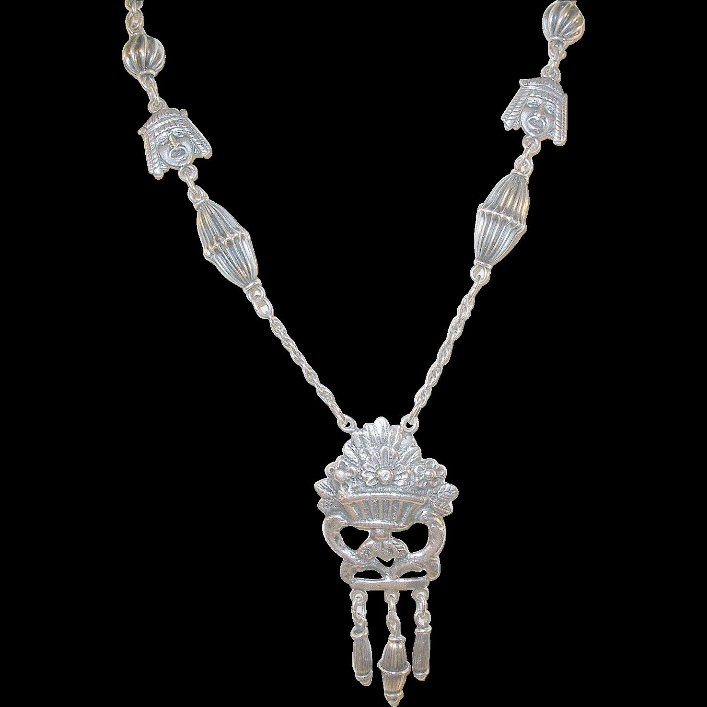 Vintage Sterling Necklace 60