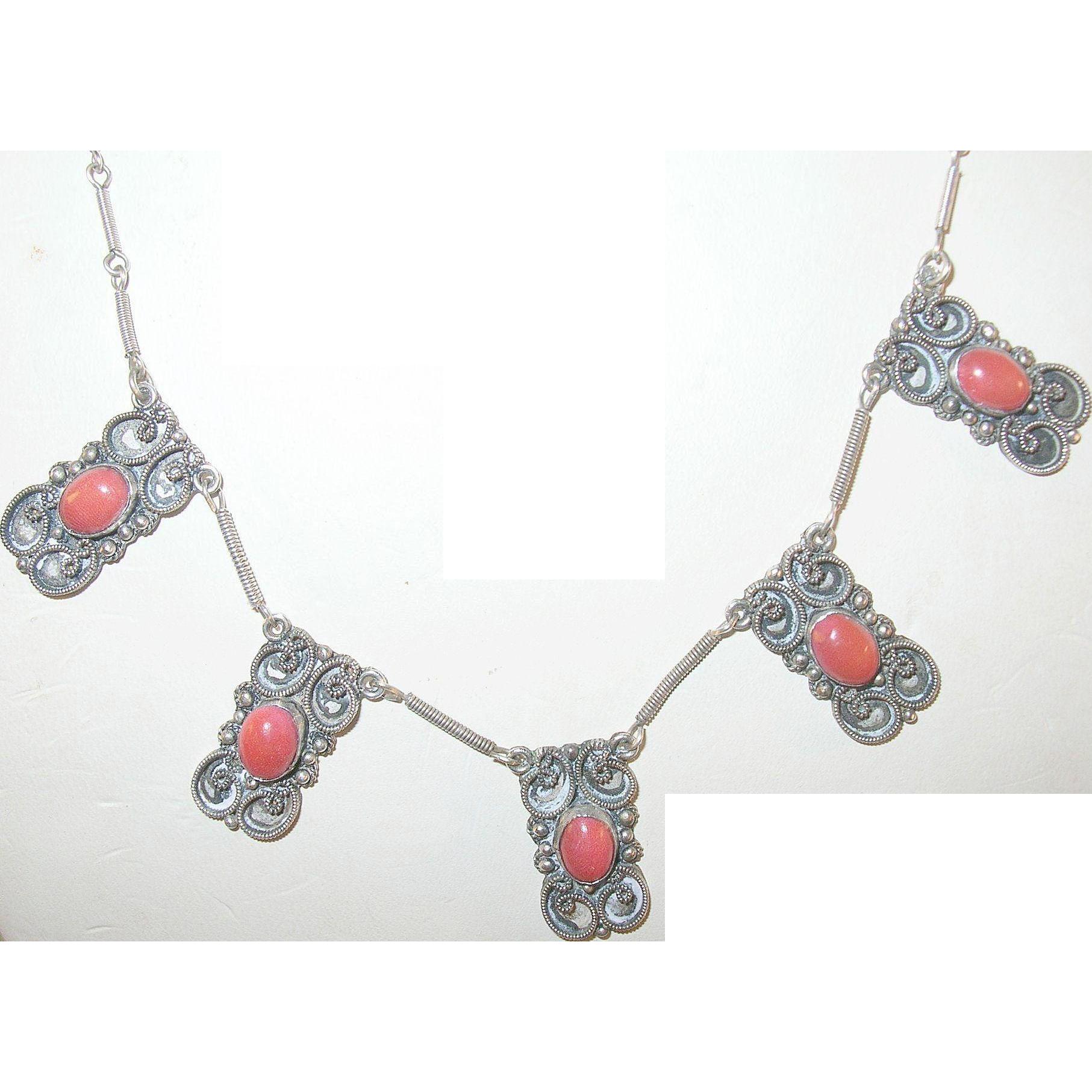 Vintage Sterling Necklace 39