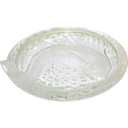 Vintage Lalique Bowl Fish Design