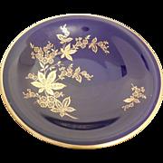 Lindner Porcelain Cobalt Blue Bowl