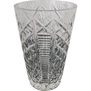Waterford Crystal Vase - Signed