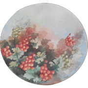 JPL Limoges France Hand Painted Painted Plate