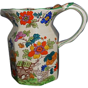 Mason Ironstone Floral Pitcher