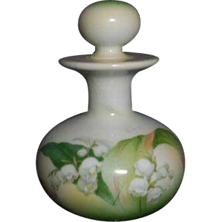 RS Prussia (1904/1938) Porcelain Perfume Scent Bottle