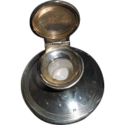 Solid Capstan Inkwell Hallmarked