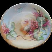 Charles Martin Porcelain Limoges Plate