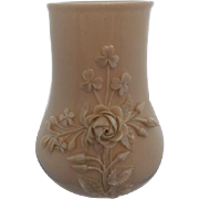 Belleek Achilles Vase with Applied Flowers