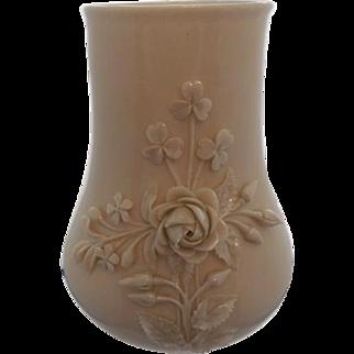Belleek Achilles Vase with Applied Flowers