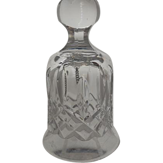Waterford Crystal Bell-Lismore Pattern
