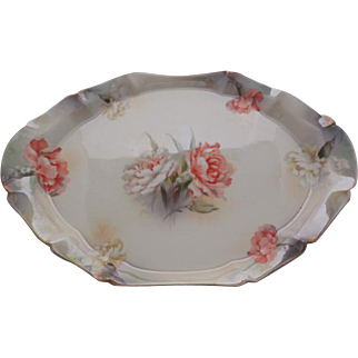 RS Prussia 1904-1914 Star Sculpted Smooth RD3 Dish