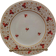 "Derby 8.25"" Porcelain Plate"