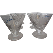 6  Lismore Waterford Crystal