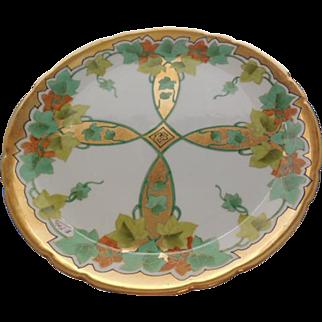 JPL (Jean Pouyat) Limoges France Porcelain Plate