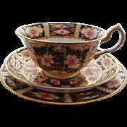 Royal Crown Derby Porcelain Trio Set (3 pieces)