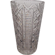 Waterford Fine Crystal Vase-8 inches in height