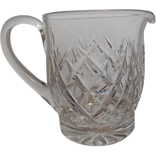Waterford Crystal Pitcher-Marked Waterford 5.75 inches in height