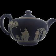 Wedgwood Dark Blue Tea Pot