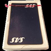 Vintage Unopened SAS Playing Cards