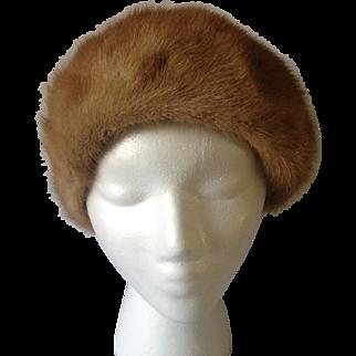 Mr. John Autumn Haze Mink Cloche Hat