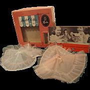 Little Miss Revlon Crinolines (2) in original Box