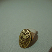 Automobile Manufacturer's Association 1938 NY Show Lapel Button