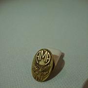 Automobile Manufacturer's Association 1938 NY Show Lapel Button