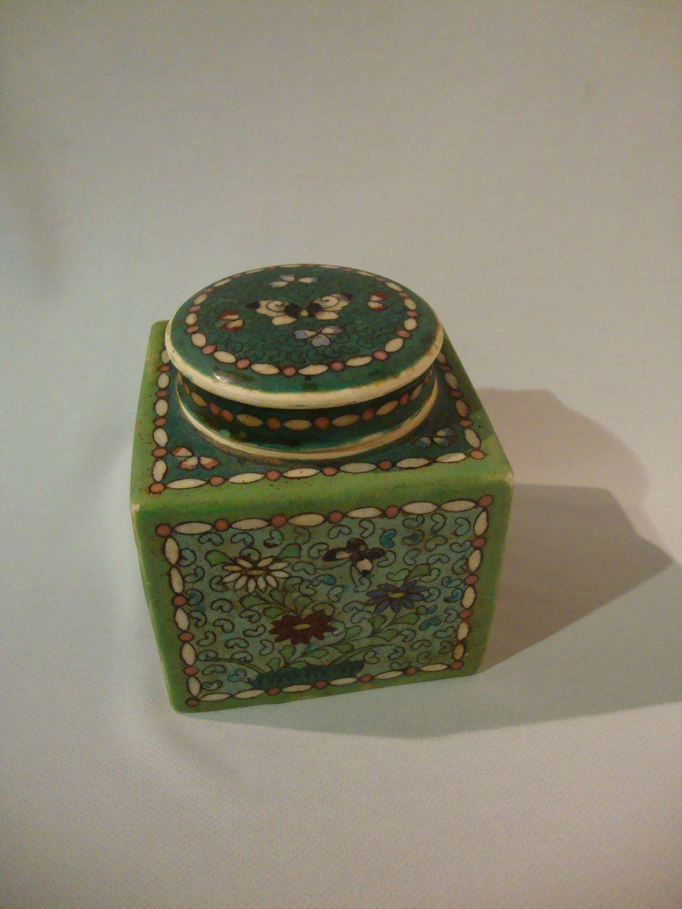 Totai Shippo Cloisonné Natsume – Tea Caddy