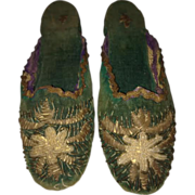 1880s-90s Ottoman – Turkey Child's Slippers
