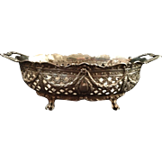 Hanau Silver Reticulated Basket