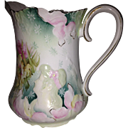 R.S. Prussia Double Hidden Image Lemonade Pitcher
