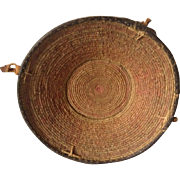 Ethiopian Harrar Basket with Cowrie Shells