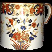 18th C. Wedgwood Amari Style Décor Pearlware Cann