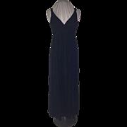 Ann Taylor Salesman's Sample Silk Grecian Evening Gown SZ4