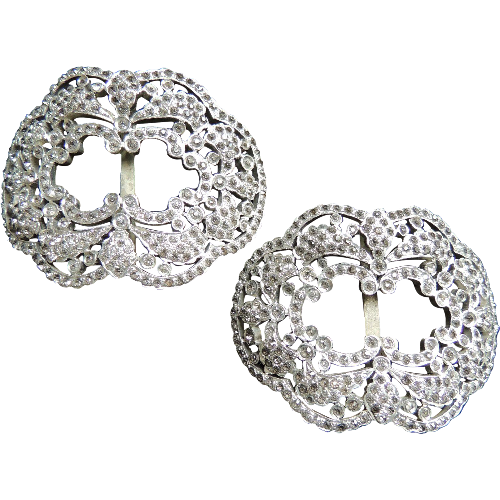 18th century shoe buckles