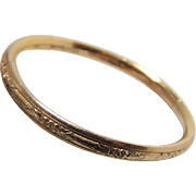 Baby Bracelet Victorian Gold Filled Bangle