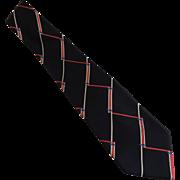 Ermenegildo Zegna Tie Necktie Silk Made In Italy c1990's