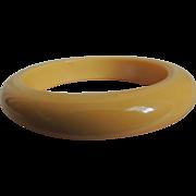 Bakelite Bracelet Cream Corn