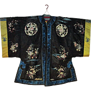 Chinese embroidered robe vintage