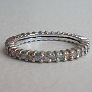 Diamond Eternity Band - Wedding Band