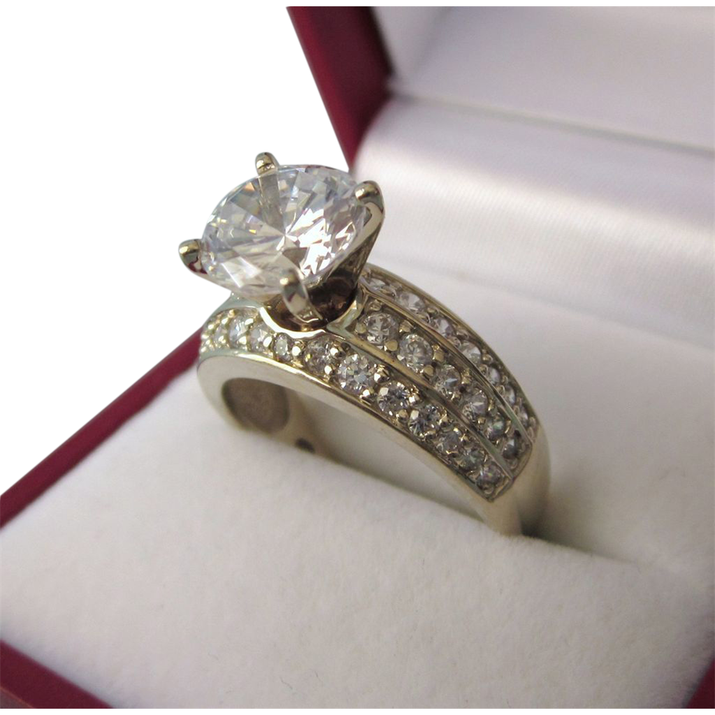 auctions gold ring dazzling size grams