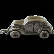 1930's Sterling Automobile 3-D Charm