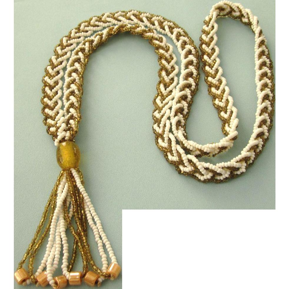 Vintage Flapper Necklace 22