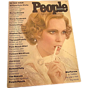 Scarce First Issue of People Magazine, 1974