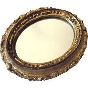 50% OFF - Sweet Vintage Florentine Oval Small Mirror