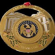 1996 White House Christmas Ornament