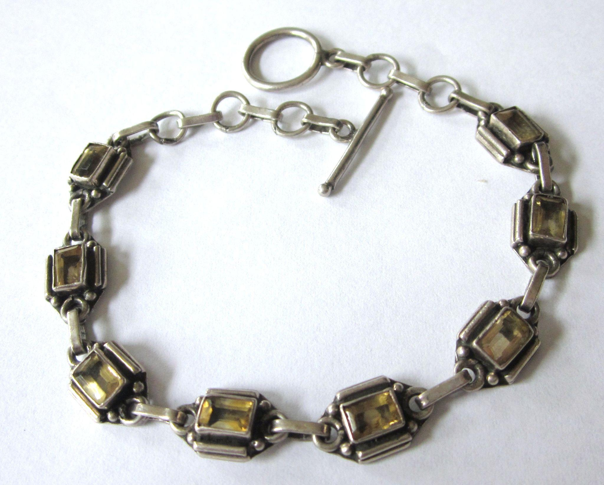 how to put on a bracelet with a paperclip