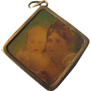Old Photo Charm or Pendant
